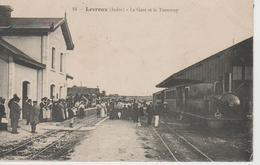 Levroux La Gare Et Le Tramway - Francia