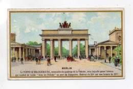 Chromo - Au Cygne Rouge, Rouen - Berlin, La Porte De Brandebourg - Autres