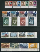 1966 Lesotho, Lotto Serie Complete , Serie Complete Nuove (**) - Lesotho (1966-...)