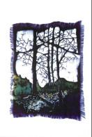 Elisa Quevedo, Batik, Art Painting Postcard Unposted - Paintings