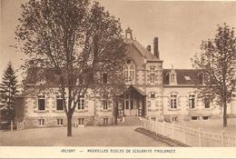 03 ALLIER  :  Jaligny  Nouvelles école   Réf 2313 - Autres Communes