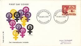 Denemarken - FDC 20-3-1975 - Internationales Jahr Der Frau/Internationaal Jaar Van De Vrouw - M 588 - FDC