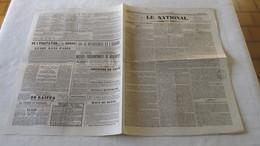 PHOTOGRAPHIE - PERFECTIONNEMENT - OBJECTIF COMBINE - 1842 ( LE NATIONAL ) - Journaux - Quotidiens