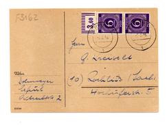 500/3162 - OCCUPAZIONE ALLEATA , Cartoncino Del 2/3/1946 - Non Classés