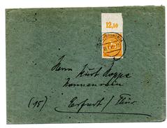 500/3163 - OCCUPAZIONE ALLEATA , Lettera Per Erfurt Del 5/7/1946 - Non Classés