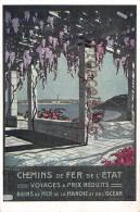 Chemins De Fer De L'Etat - Bains De Mer De La Manche - Le Havre ?   2  SCANS - Chemins De Fer