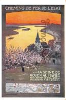 Chemins De Fer De L'Etat - La Seine De ROUEN Au HAVRE - - Chemins De Fer