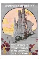 Chemins De Fer De L'Etat - Excursions En Vendée & Touraine - Chemins De Fer