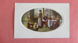Family View  Embossed Frame Belgium Stamp  Ref 2425 - Europe