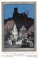 Chemins De Fer D' Alsace Et De Lorraine - Kaysersberg - Illustration Services Automobiles De La Route Des Vosges - Chemins De Fer