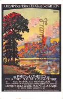 Chemins De Fer Dde L'Etat De BRIGHTON - Paris à Londres Par Dieppe Et Newhaven - Angleterre - Chateau De Windsor - Chemins De Fer