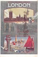 ROUEN & VENEZIA Venise - Chemins De Fer De L'Ouest Et De Brighton - LONDON- Illus Dorival - Chemins De Fer