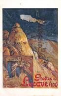 Chemins De Fer - Gares De Rocamadour Et De Souillac - GROTTES De LACAVE Dans Le LOT - Illustration - Chemins De Fer