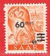 MiNr.227 Xx Deutschland Saarland (1945-49) - 1947-56 Protectorate
