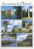 Les Environs De Ploermel (multivues) Chateau Trécesson Pyramide Mi Voie Crois Marfaraud Chapelle Malville écluse Guillac - Ploërmel