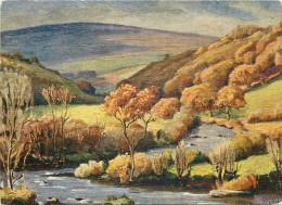 Herbert Truman Watercolour,  Dartmeet, Dartmoor, Devon, England Postcard Unposted - Altri