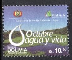 BOLIVIE BOLIVIA 1527 Eau