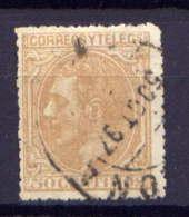 Spanien Nr.182         O  Used       (487) - 1875-1882 Königreich: Alphonse XII.