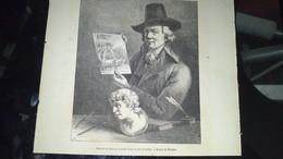 Affiche (gravure) - PORTRAIT DE BOISSIEU Dessiné Et Gravé Par Lui Même - Afiches