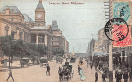 ¤¤   -   AUSTRALIE    -   MELBOURNE    -  Swanston Street     -   ¤¤ - Melbourne