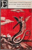 CPA Diable Devil Krampus Non Circulé Lapin - Glaube, Religion, Kirche