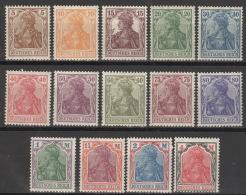 Deutsches Reich 140/53 ** Postfrisch
