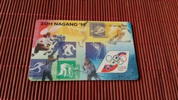 Phonecard Olympic Games - Jeux Olympiques