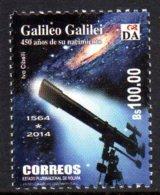 BOLIVIE BOLIVIA 1559 Galilée - Astronomy