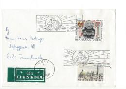 15935- Christkindl Cover 18.12.1979 Wels Pour Innsbruck + Vignette über Christkindl - Noël