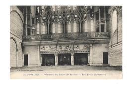 Poitiers - Intérieur Du Palais De Justice - Les Trois Cheminées - Poitiers