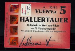 """Regionalgeld, Local Currency """"HALLERTAUER"""""""" 5 Units, UNC, Polymer - Sonstige"""