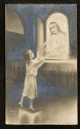 Communieprentje / Communie / Communion / Confirmation / 2 Scans / 1931 / Nini Smet / Antwerpen - Communion