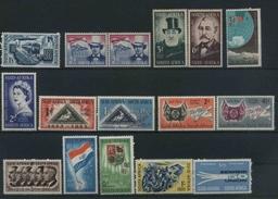1953/1960 Sud Africa, Lotto Serie Complete Nuove (**) - Sud Africa (...-1961)