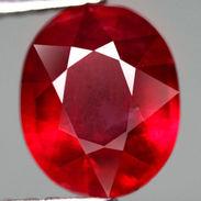 Rubino Rosso Del Monzambico Ct. 3.77 - Certificato Incluso - Ruby