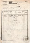 15....CANTAL...MAURIAC...PERCEPTION 2F DE 1925 ...‹(•¿ - Fiscaux