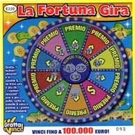GRATTA E VINCI LEGGERMENTE GRATTATO DA COLLEZIONE !!LA FORTUNA GIRA.ENTRA E.LEGGI - Biglietti Della Lotteria
