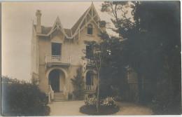 CPA Photo Propriété Bourgeoise La Villa Saint Jacques à Localiser - A Identifier