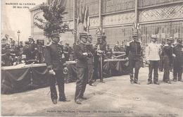 75 - PARIS - Edit. E. LE DELEY - MARCHE DE L'ARMEE 29 Mai 1904 - Galerie Des Machines - Contrôle - Groupe D'Officiers - Autres