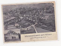 Meissenheim Am Rhein Vom Flugzeug Aus - Deutschland