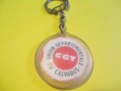 Syndicat Ouvrier / CGT / Union Départementale Du Calvados/ 1909-1969/ 60 éme Anniversaire/ 1969         POC204 - Key-rings