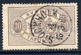 Sweden  Sc# O9  Used  1874 - Service
