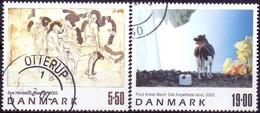 DENEMARKEN 2003 Kunst GB-USED - Gebraucht