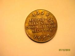 Suisse: Médaille Argent 600e Anniversaire De L'entrée De Berne Dans La Confédération - Jetons & Médailles