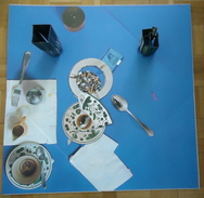 SPOERRI, Piège De La Table Piège,1973, Epreuve D' Artiste , 50 X 50 Cm - Expédition Gratuite Union Européenne - Altre Collezioni