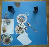 SPOERRI, Piège De La Table Piège,1973, Epreuve D' Artiste , 50 X 50 Cm - Expédition Gratuite Union Européenne - Other Collections