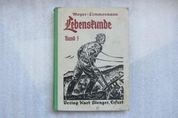 Livre Scolaire En Alsace Sous Occupation Allemande - Schulbücher