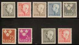 Sweden  Sc# 435-442   MNH/MH  Complete Set 1952