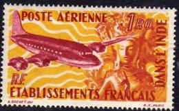 Inde P.A. N° 18 XX  1 R. Carmin Et Jaune, Sans Charnière, TB