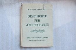 Livre Scolaire En Alsace Sous Occupation Allemande - Livres Scolaires