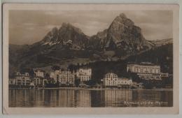 Brunnen Und Die Mythen - Hotel Eden - Photoglob No. Z 5487 - SZ Schwyz